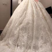 للبيع فستان عروس لبسه اولى