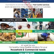 شركة ثرمنكس لمكافحة القوارض والحشرات
