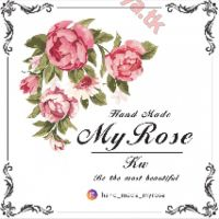 Hand made _my rose