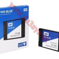 هارد ديسك إس إس دي سريع للكمبيوتر WD Blue 500GB PC SSD - SATA 6 Gb/s 2.5 Inch Solid State Drive