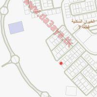 للبيع في الخيران السكني قطعة 7 زاوية شارع رئيسي 400 متر