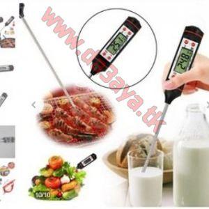 جهاز لقياس درجة حرارة الطعام والسوائل والمشويات Meat Thermometer Kitchen Digital Cooking Food Probe